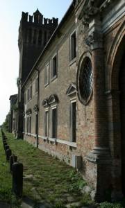 Castello di San Pelagio - Prospettiva