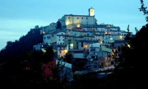 Prime luci serali su Sant'Angelo Limosano
