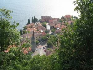 Varenna vista dal castello di Vezio