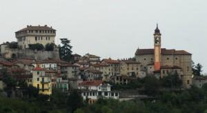 panorama con castello