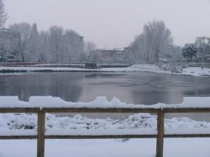 Buccinasco sotto la neve