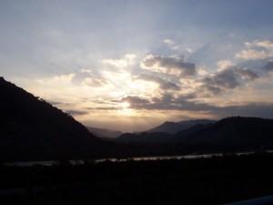 Neto al tramonto