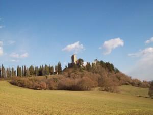 Castello di Romena secoloX panoramica
