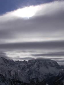 Panorama da Monte Lussari