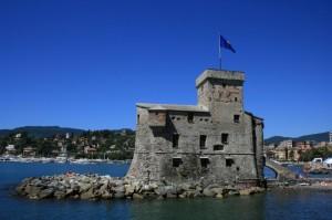 Rapallo, il castello (vista laterale)