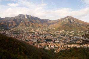 Panorama da Monte Castello