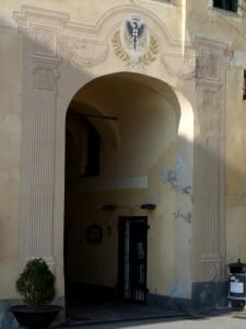 Porta di accesso al borgo di Laigueglia