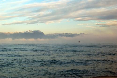 Sirmione - La nebbia autunnale