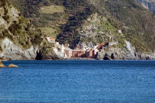 Vernazza - Vista dal mare