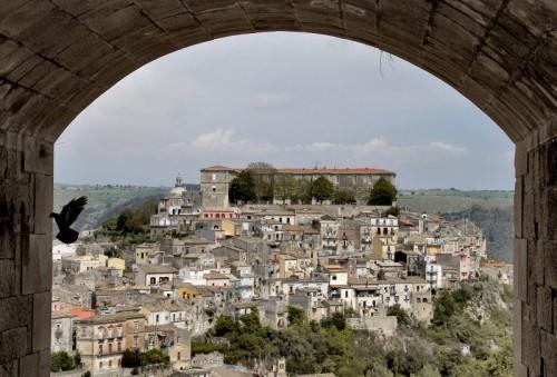 Ragusa - In volo su Ibla