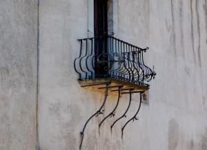 Santa Severina:  il verone della Castellana
