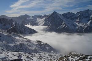 Alta Val Troncea innevata