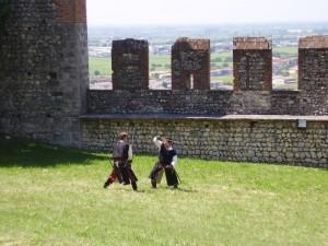 Il duello al castello