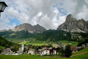 Corvara … ti sorridono i monti