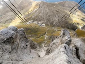 700 mt più in basso si trova il passo