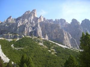 Catinaccio - passo scalette 2