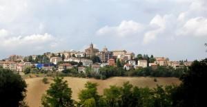 Montefano vista sud
