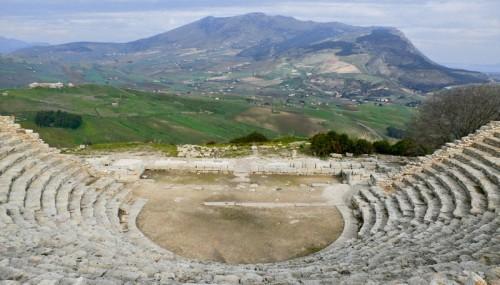 Calatafimi Segesta - Una scenografia naturale