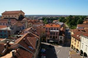 Panorama di Oleggio dal campanile