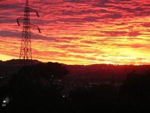 tramonto a porto recanati