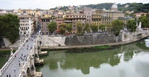 Vista da castel S.Angelo 2