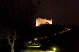 Il Castello di Ussel, sentiero