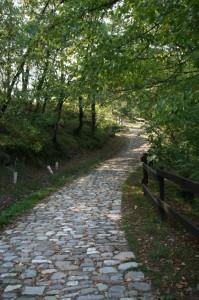 La vecchia strada per il Catello