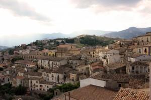 Sui tetti di Altomonte