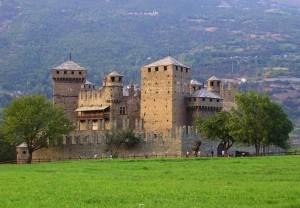 The castle of Aimone di Challant