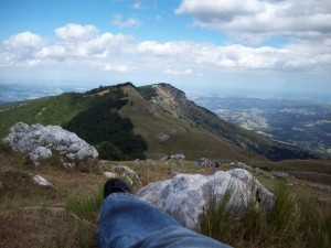 In cima all'Abruzzo