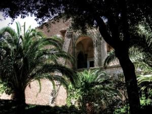 Resti dei bastioni del Palazzo Pallavicini