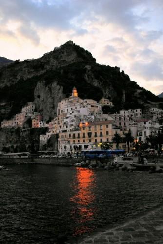 Amalfi - Amalfi al crepuscolo