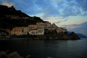 Amalfi, lentamente si spengono i colori…