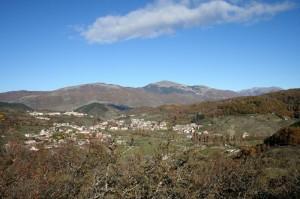 Verso il monte Boragine e la valle del Velino