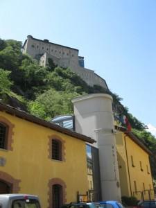 Il potere antico e moderno a Bard..il Castello