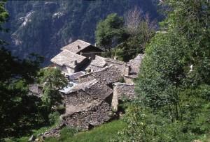 borgata Varda nel Vallone del Roc, comune di Noasca, Valle Orco