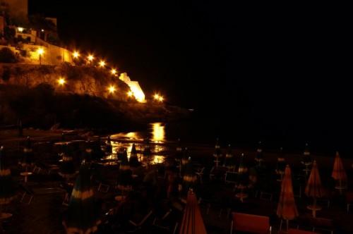 Sperlonga - Castello illuminato