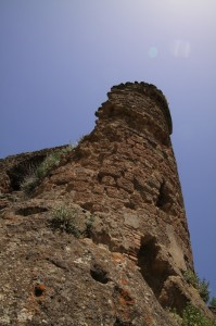 Torre del Castellodi Monterano abbandonata