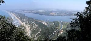 Lago di Paola e la Duna di Sabaudia