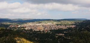 vedutta panoramica di Ferla.