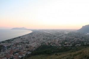 Panorama di Terracina