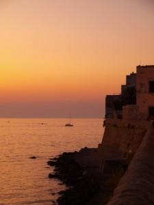 Gallipoli al tramonto
