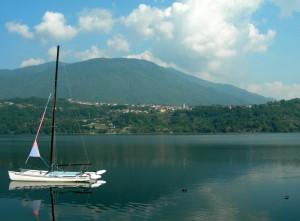 Tenna,vista sul lago…