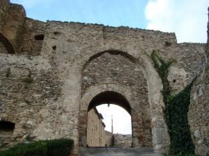 Entrata castello di Vibo Valentia