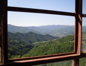 La Val Vona vista da Caffaraccia
