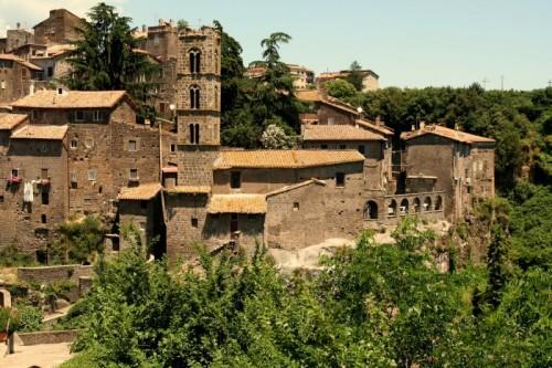 Ronciglione - Veduta del borgo