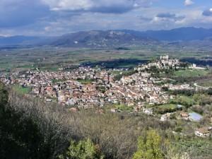 Panorama di Vairano Dal Mon Tauro