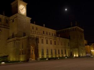 le 20.00 a carpi …………..       4 passi in piazza sotto al castello