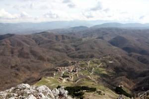 Collegiove dal monte Cervia