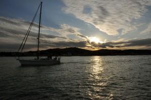 Porto San Giorgio al tramonto